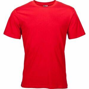 Kensis KENSO červená S - Pánské triko