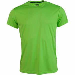 Kensis REDUS světle zelená M - Pánské sportovní triko