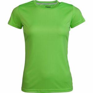 Kensis VINNI zelená L - Dámské sportovní triko