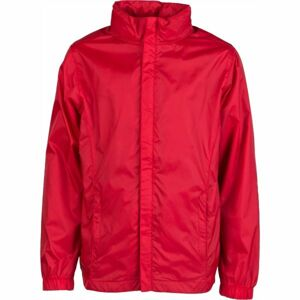 Kensis WINDY JR červená 152-158 - Chlapecká šusťáková bunda