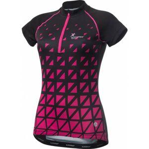 Klimatex ALBINA černá M - Dámský cyklistický dres