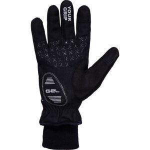 Klimatex ANYK černá XL - Unisexové softshelové rukavice