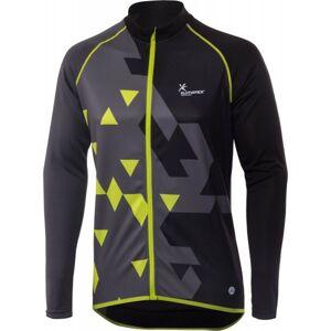 Klimatex ARYEH černá XL - Pánský cyklistický dres