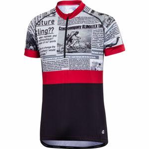Klimatex BAREX vínová L - Pánský cyklistický dres