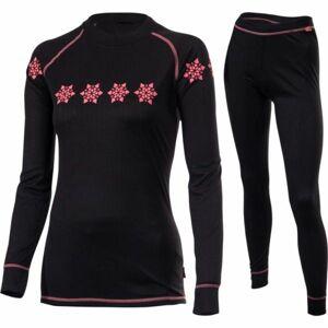 Klimatex FREYA18 černá M - Set dámského funkčního prádla