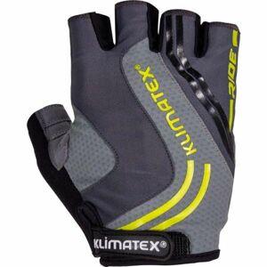 Klimatex RAMI tmavě šedá XL - Pánské cyklistické rukavice