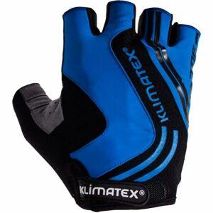 Klimatex RAMI modrá L - Pánské cyklistické rukavice
