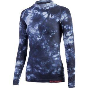 Klimatex ROOSA modrá XL - Dámské bezešvé termo triko