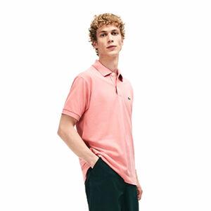 Lacoste S/S BEST POLO světle růžová M - Pánské polo tričko
