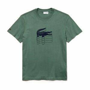 Lacoste MAN T-SHIRT šedá L - Pánské tričko