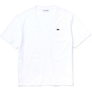 Lacoste WOMENS TEE SHIRT bílá L - Dámské tričko