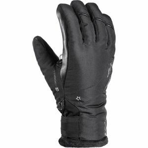 Leki SNOWBIRD 3D GTX W černá 7,5 - Dámské sjezdové rukavice
