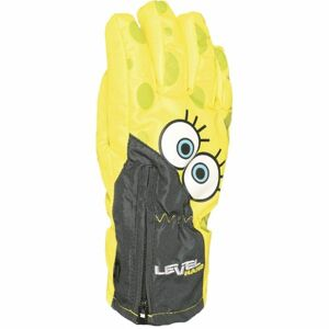 Level LUCKY žlutá 4 - Voděodolné celozateplené rukavice
