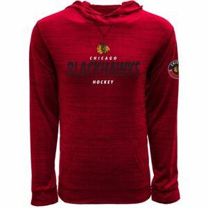 Levelwear LOGO TEE CHICAGO červená L - Pánské tričko