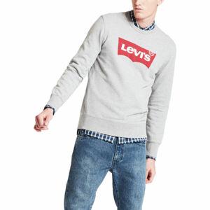 Levi's GRAPHIC CREW B šedá XL - Pánská mikina