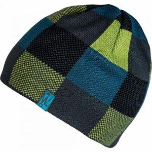 Lewro BRYN černá 4-7 - Chlapecká pletená čepice