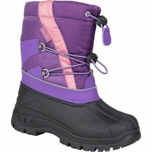 Lewro CANE IV fialová 34 - Dívčí zimní obuv