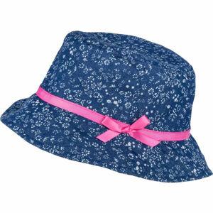 Lewro JANKA modrá 8-11 - Dívčí plátěný klobouček