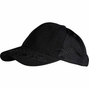 Lewro DOBY černá 8-11 - Chlapecká čepice s kšiltem