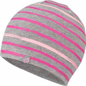 Lewro FERIT růžová 8-11 - Dětská čepice