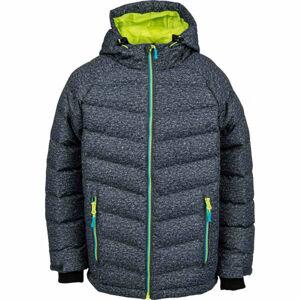 Lewro SHELBY zelená 164-170 - Dětská zimní bunda