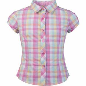 Lewro ODELIA růžová 140-146 - Dívčí košile