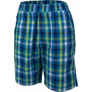 Lewro KNOX  128-134 - Chlapecké šortky s kostkovaným vzorem
