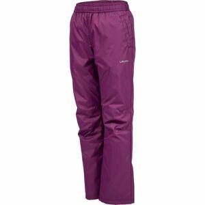 Lewro NAVEA fialová 164-170 - Dětské zateplené kalhoty