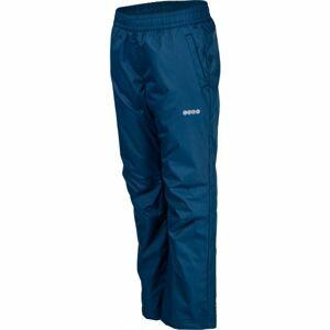 Lewro NASIM modrá 128-134 - Dětské zateplené kalhoty