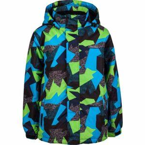 Lewro SIMA černá 152-158 - Dětská snowboardová bunda