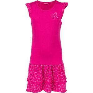 Lewro TOSCA  116-122 - Dívčí šaty s volány