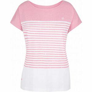 Loap ADBERTA růžová M - Dámské triko