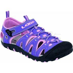 Loap BAM fialová 28 - Dětské sandály