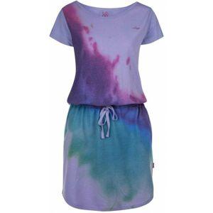 Loap BASILAE fialová L - Dámské šaty