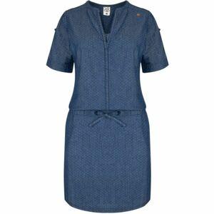 Loap NIVA modrá M - Dámské šaty