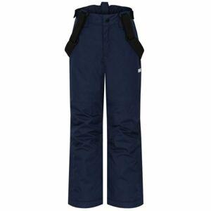Loap FUGALO modrá 128 - Dětské lyžařské kalhoty