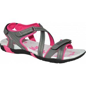 Loap JOSSIE šedá 36 - Dámské outdoorové sandály