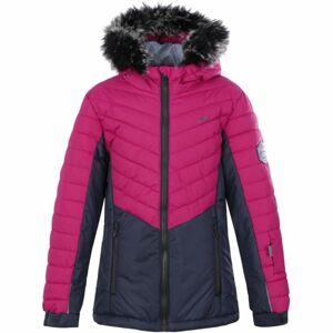 Loap OKINA tmavě modrá 134 - Dívčí zimní bunda