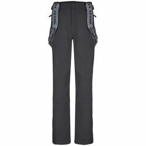 Loap LEMAR tmavě šedá XXL - Pánské zimní softshellové kalhoty