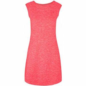 Loap MAMBA růžová L - Dámské technické šaty