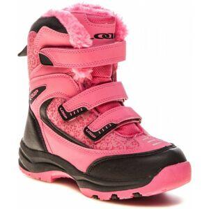Loap NAO růžová 24 - Dětská zimní obuv
