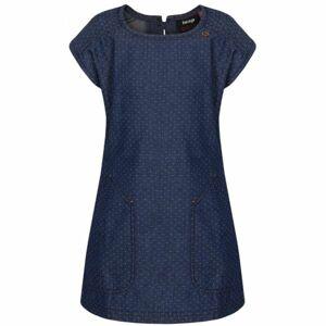 Loap NELKA modrá 112-116 - Dívčí šaty