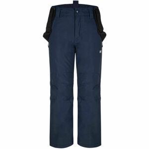 Loap FUXI zelená 152 - Dětské lyžařské kalhoty