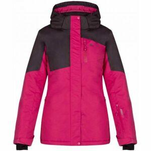 Loap LAKIA fialová L - Dámská zimní bunda