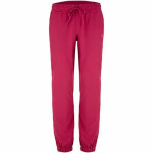 Loap URSIANA růžová L - Dámské softshellové kalhoty