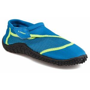 Loap SHARK KID zelená 26 - Dětské boty do vody