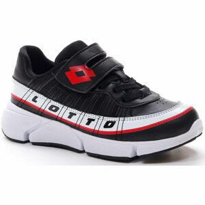 Lotto LIBRA AMF 1 CL SL černá 28 - Dětská volnočasová obuv