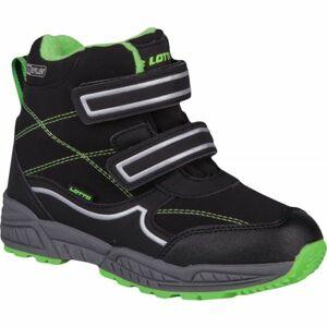 Lotto COPPER černá 34 - Dětská zimní obuv