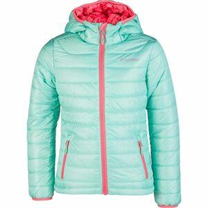 Lotto LORA světle zelená 140-146 - Dívčí prošívaná bunda