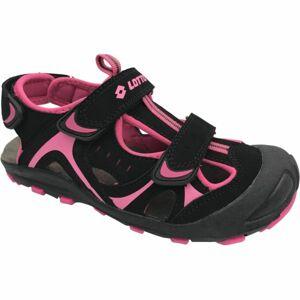 Lotto MARSHALL fialová 27 - Dětské sandály